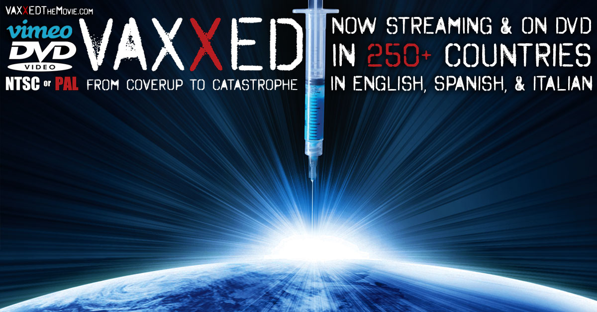 Vaxxed: From Cover-Up to Catastrophe Official Website